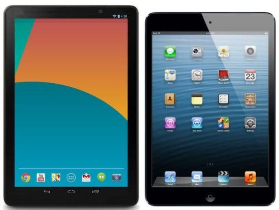 Ipad Mini 2 / Retina: Не мог ли бы его статус бестселлера угрожать Nexus 8?