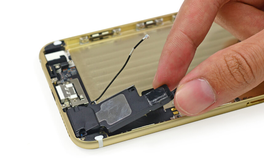 Замена динамика в смартфоне