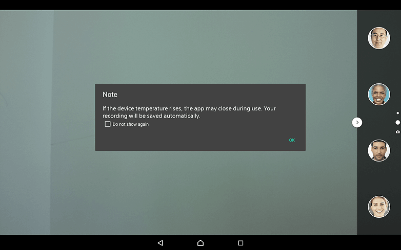 AndroidPIT-Sony-Xperia-Z4-Tablet-heat-warning-w782