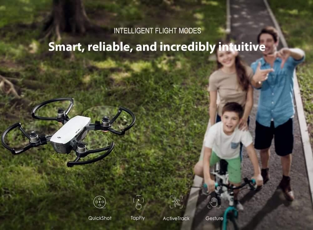 Квадрокоптер DJI Spark Mini RC Selfie Drone