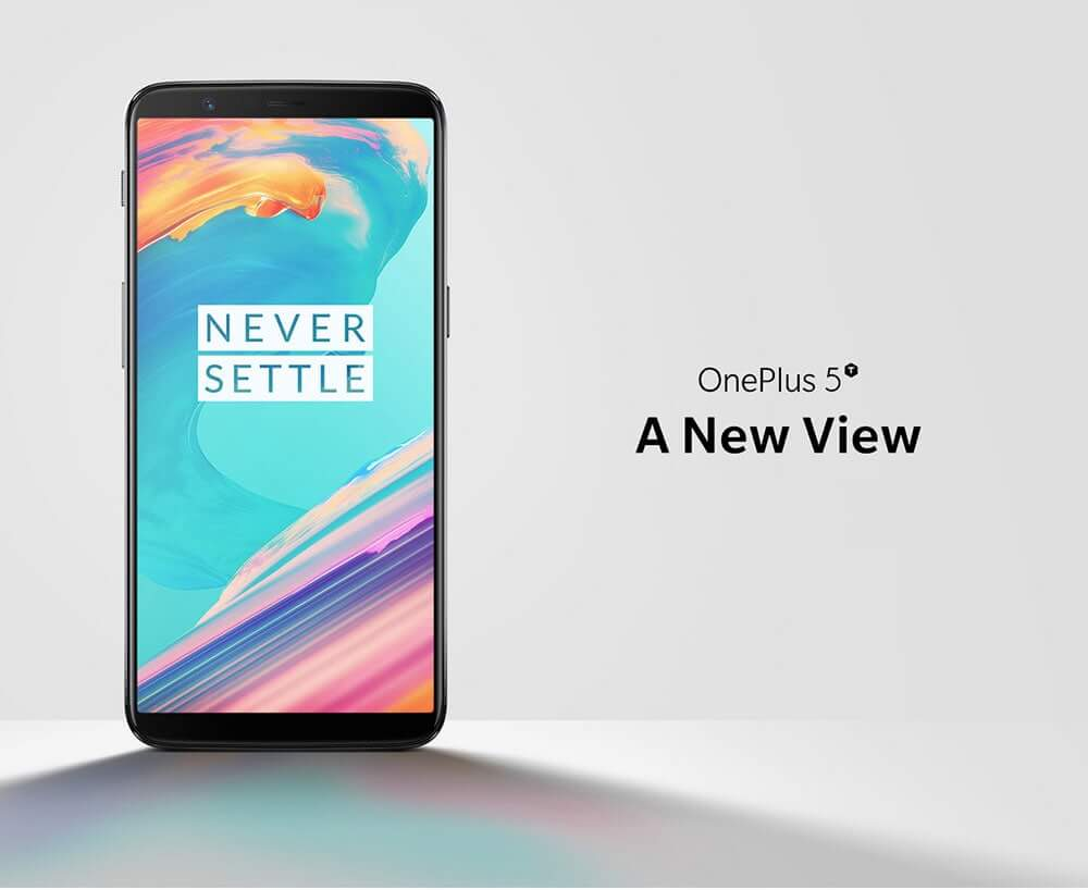 OnePlus 5T 4G Phablet International Version