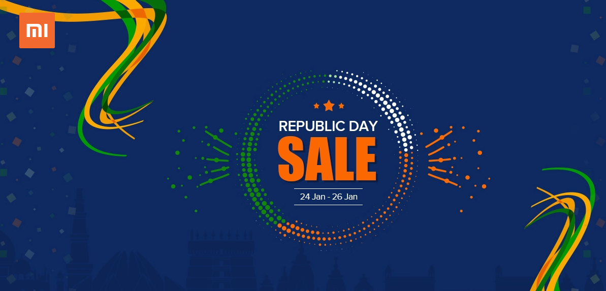 XIaomi Republic Day Sale