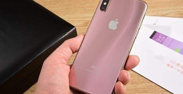 iPhone X gold para venda na China
