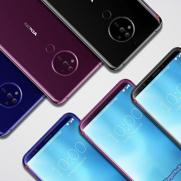 Nokia 10 Render (Фронт)