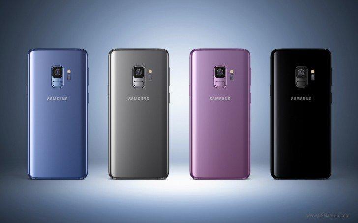 Galaxy S9 сзади