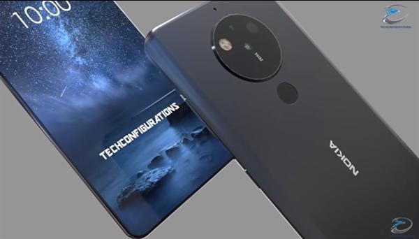 Концепция Nokia 10 делает спереди и сзади