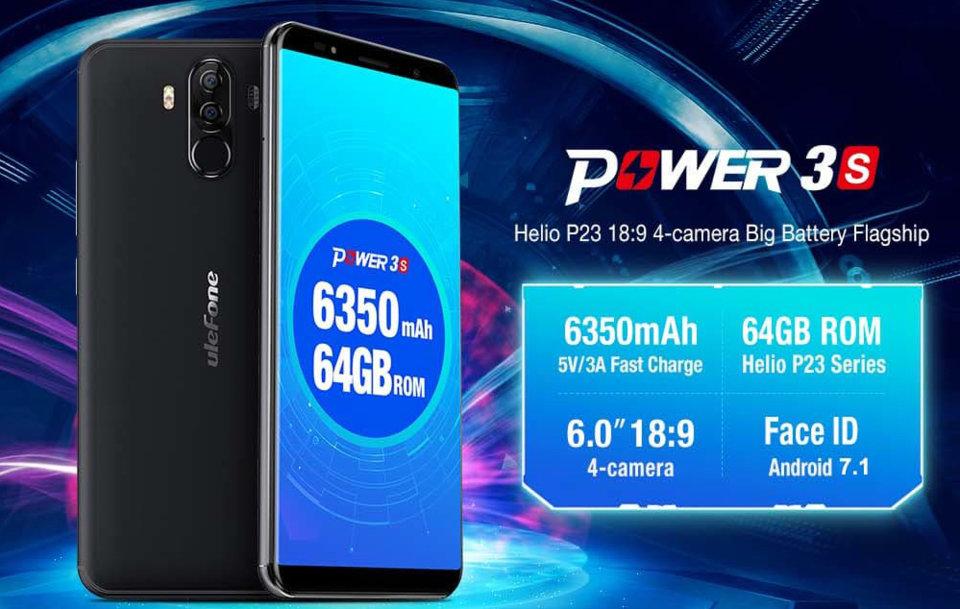 Купить смартфон Ulefone Power 3S