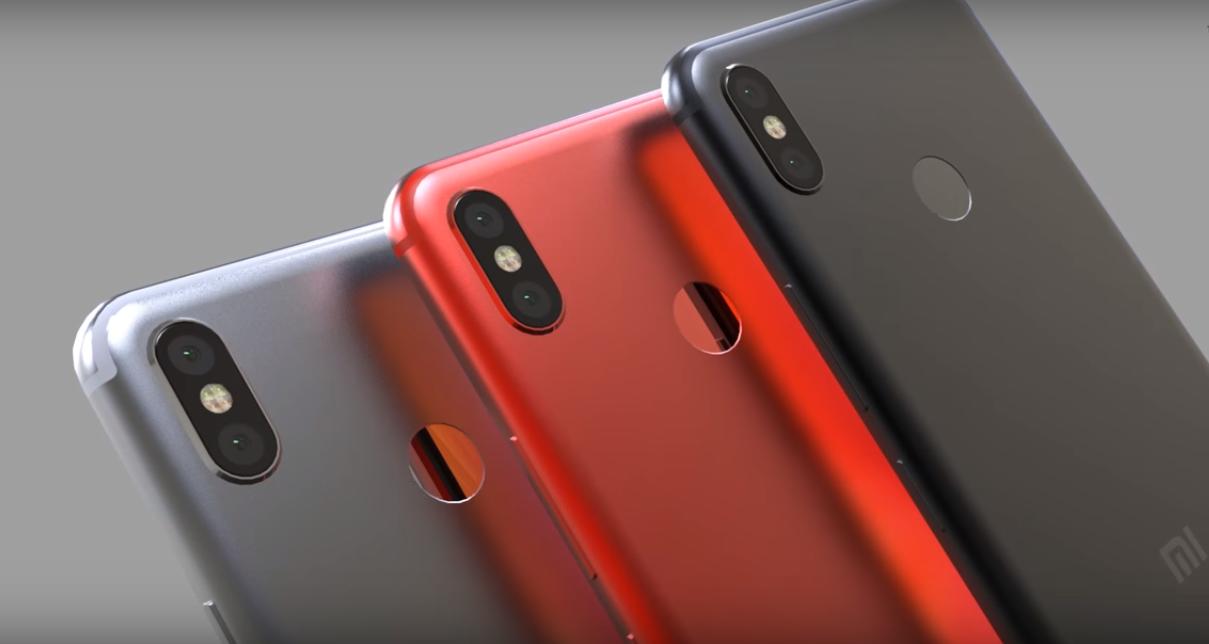Концепция Xiaomi Mi A2 (6X) имеет великолепный ...