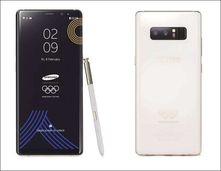 Обзор Samsung Galaxy Note 8 Winter Olympics Limited