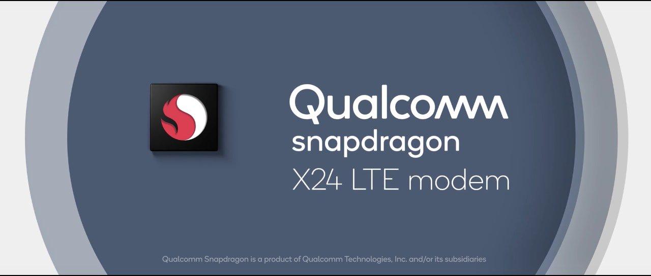 Модем Snapdragon X24 LTE