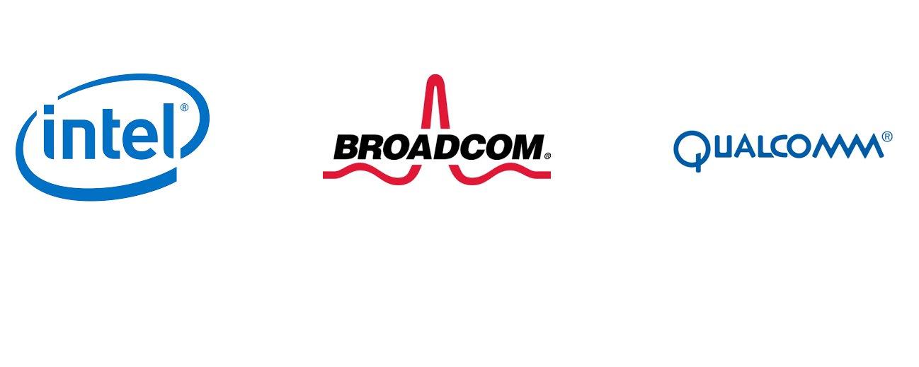 Intel + Broadcom + Qualcomm
