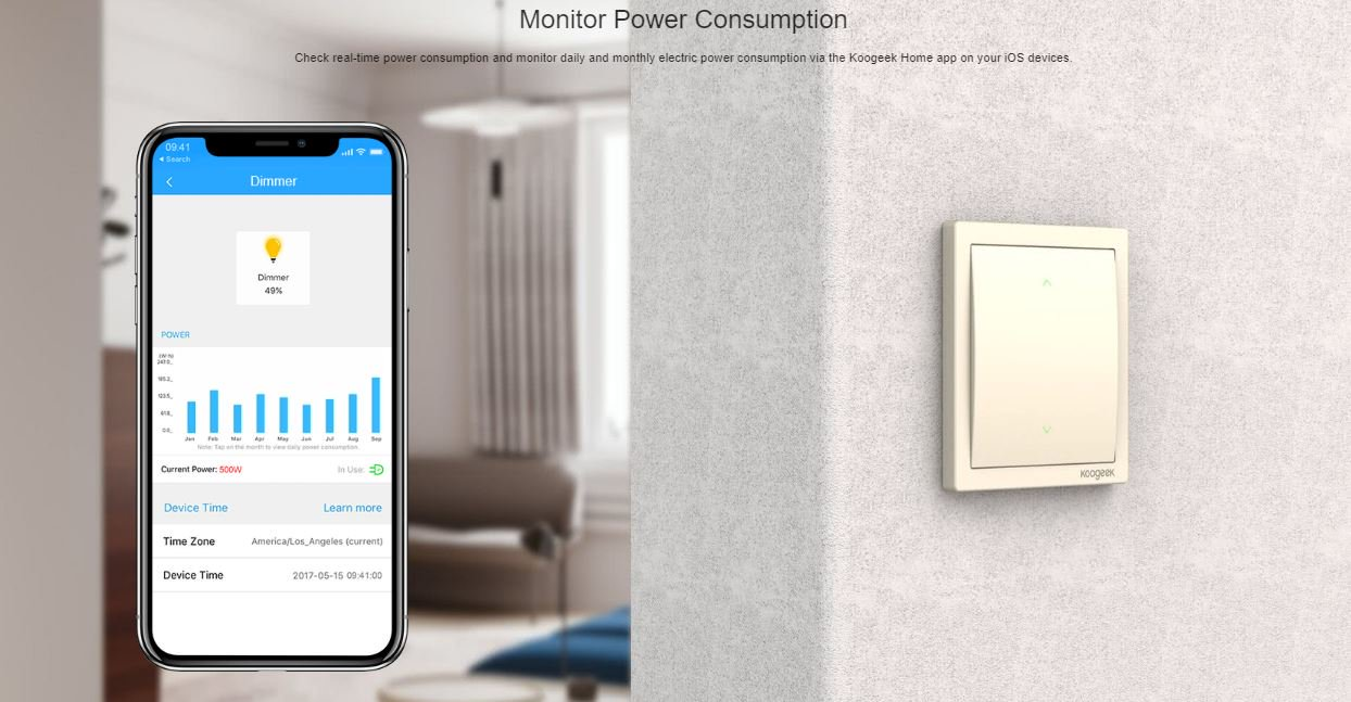Monitorare la vostra casa illuminazione utilizzando smart smart