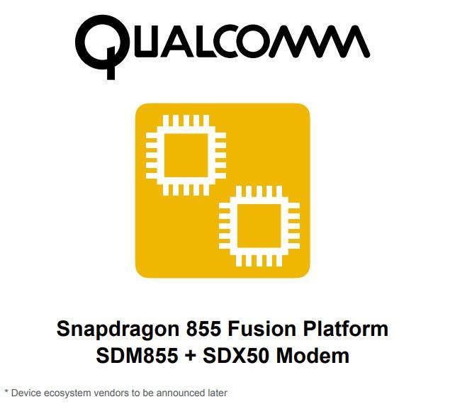 Платформа Qualcomm Snapdragon 855 Fusion