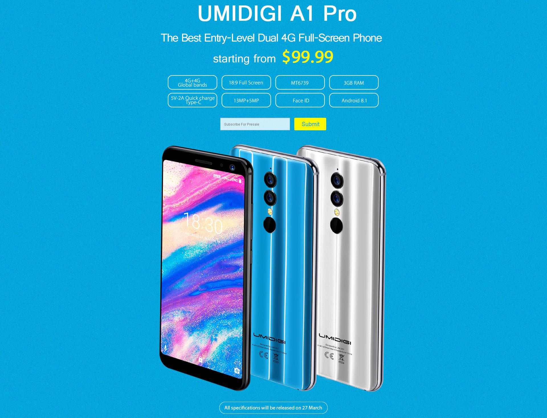 UMIDIGI A1 Pro