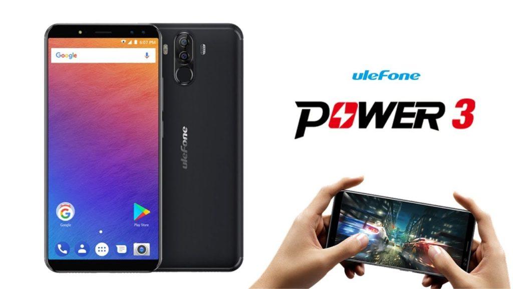 Распродажа смартфона Ulefone Power 3
