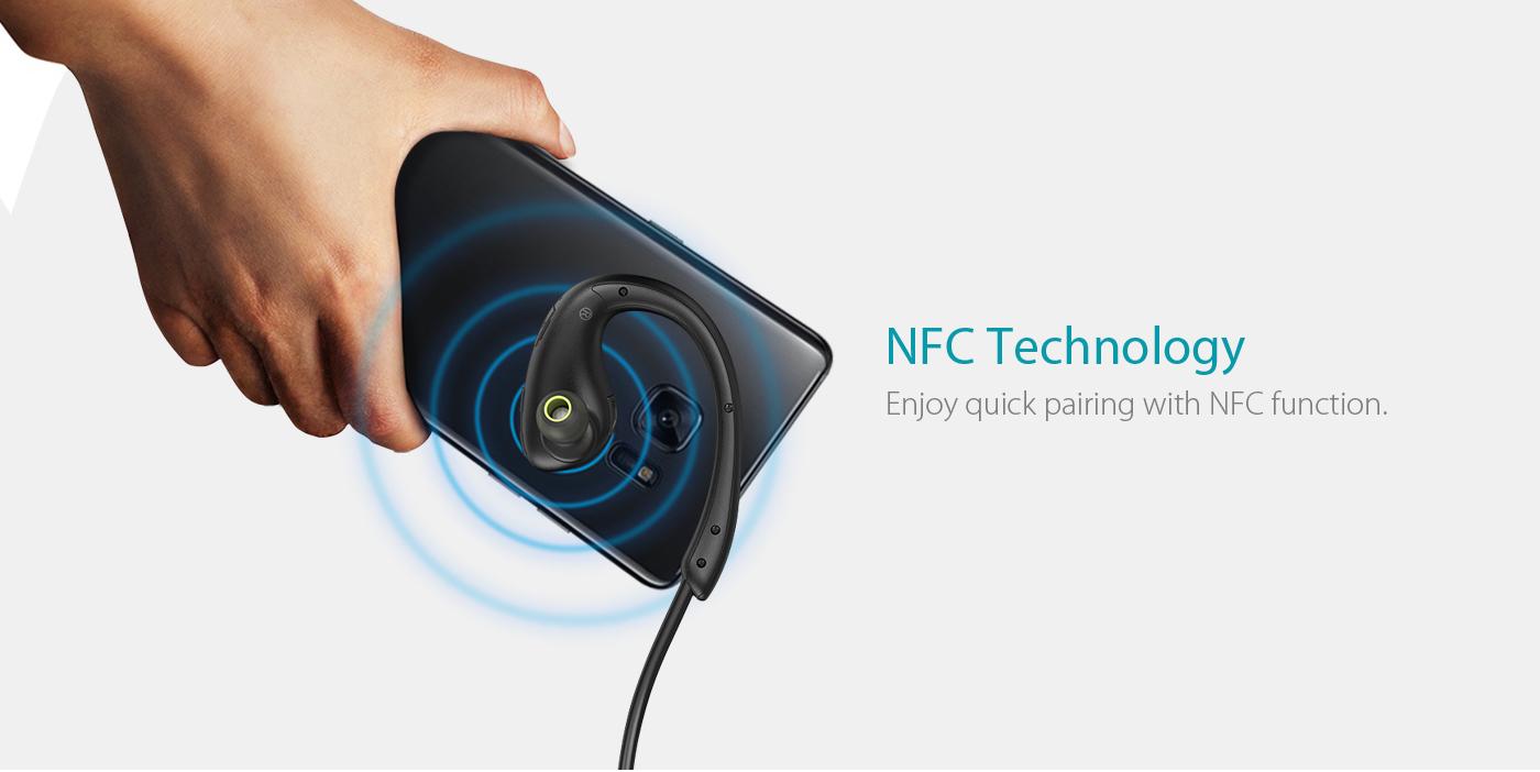 беспроводная мини-гарнитура dodocool NFC