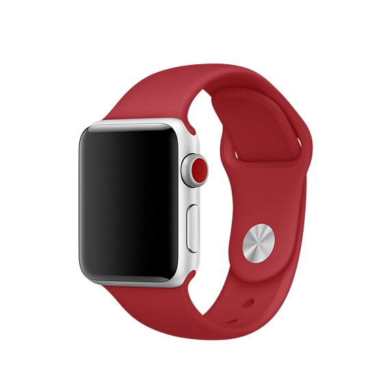 Пластинка для часов Apple (RED)