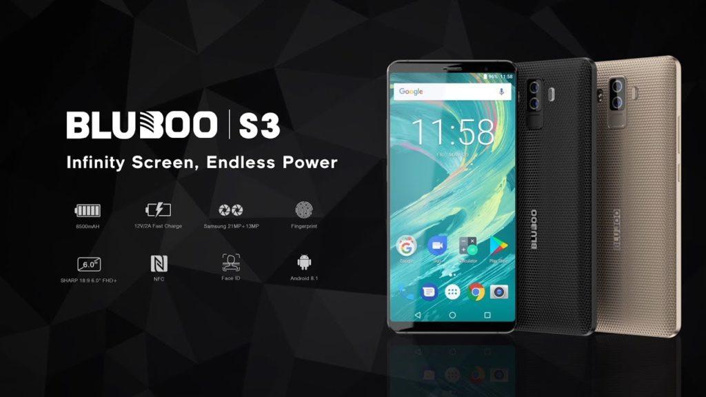 Предзаказ смартфона Bluboo S3