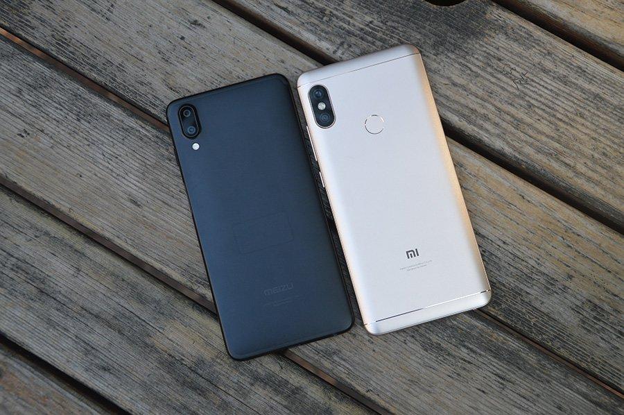 Xiaomi redmi note cina vs meizu e la fotocamera meizu è