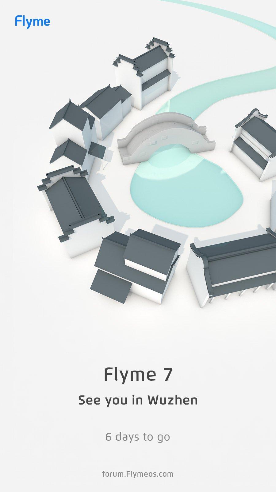 Обратный отсчет Flyme 7 Teaser