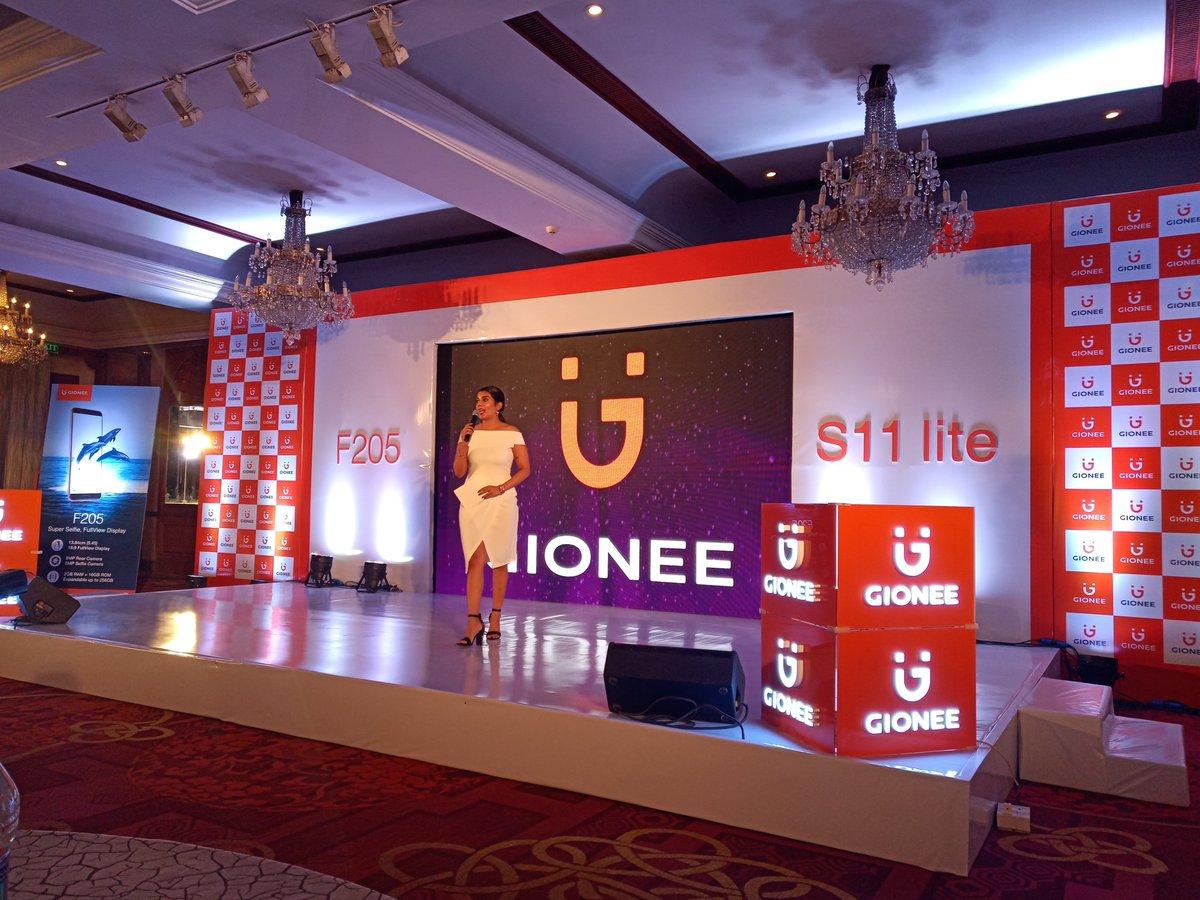 Gionee S11 Lite и запуск Gionee F205