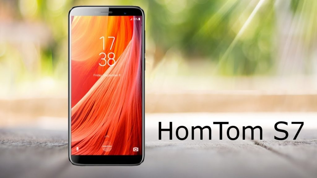 Смартфон HOMTOM S7 всего за $109,99