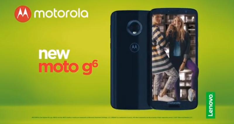 Официальный сайт Moto G6