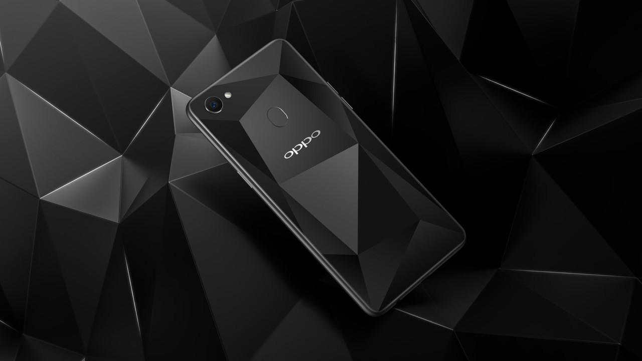 Oppo F7 Black Diamond Edition Spéciale Avec 6 Go De Ram Et 128 Go De