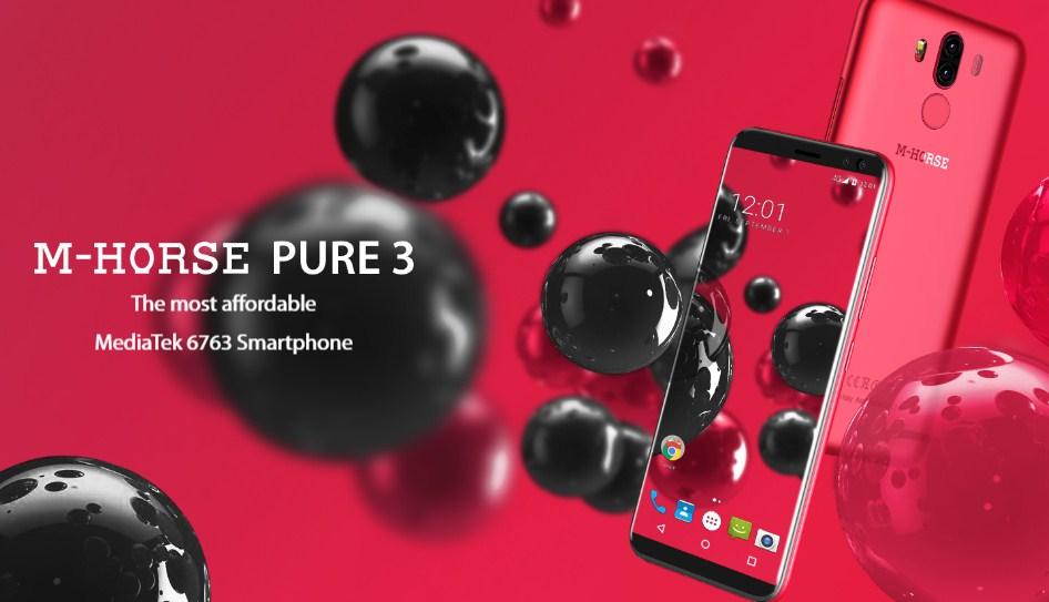 Распродажа смартфона M-Horse Pure 3 всего за $149,99