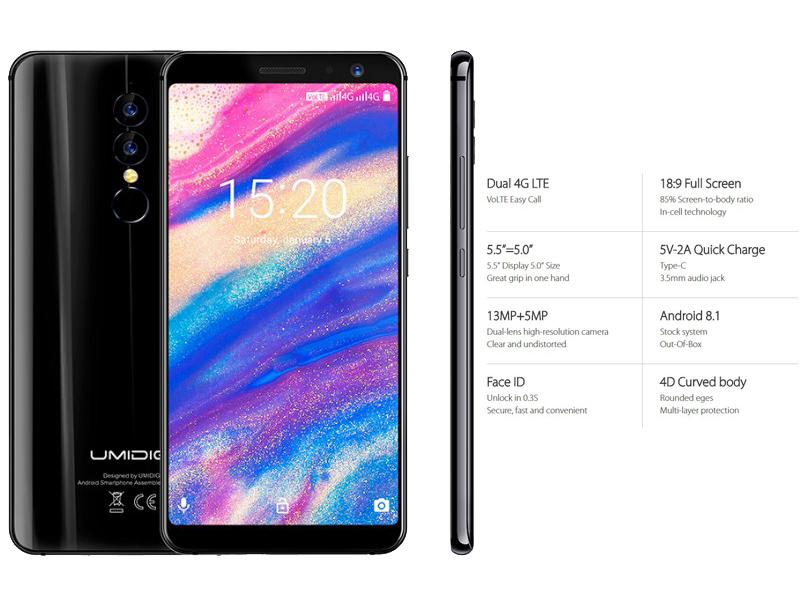 смартфон UMIDIGI A1 Pro будет продаваться всего за 99 долларов