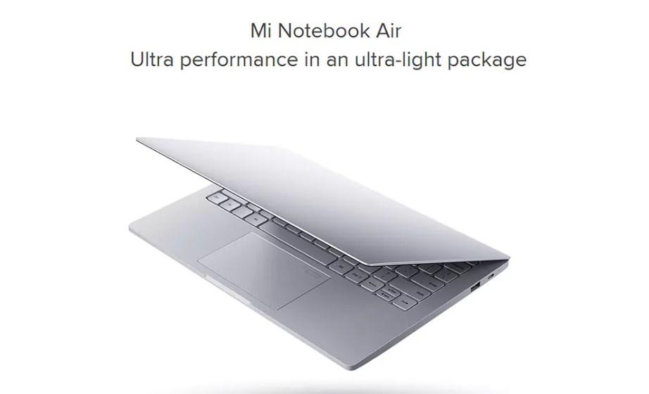Ноутбук Xiaomi Mi Air всего за $865.99