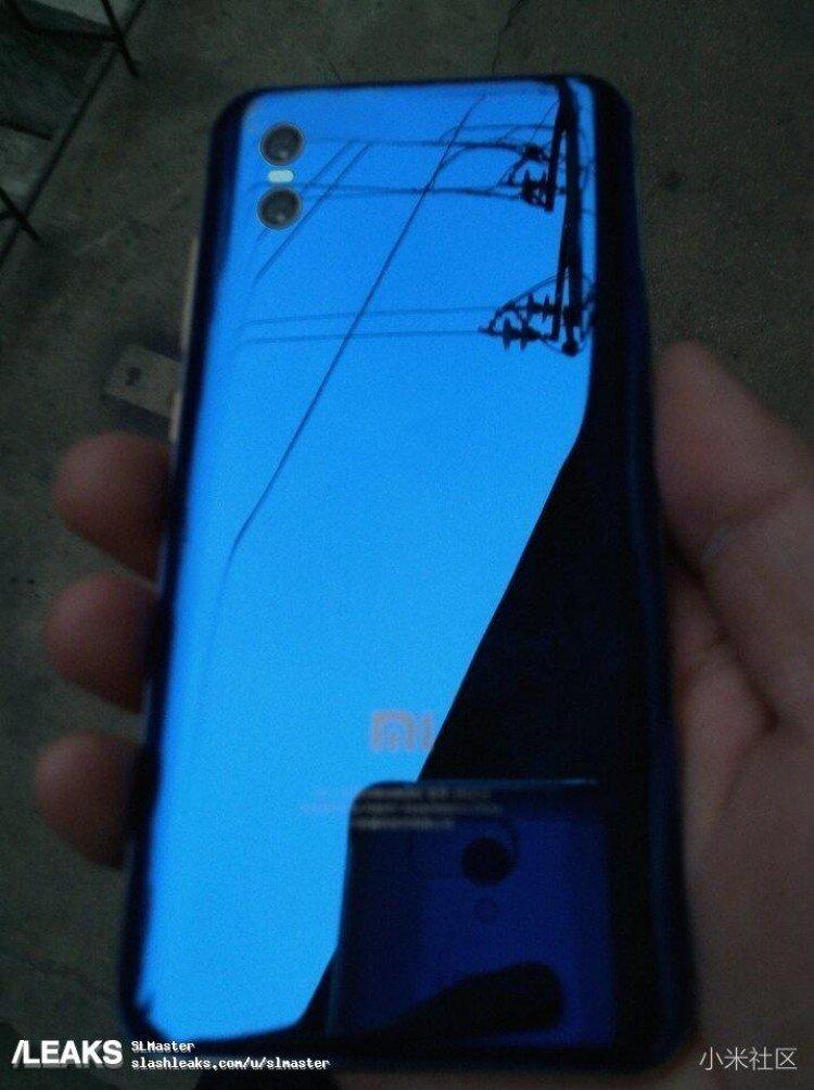 Xiaomi Mi 7 Предполагаемый задний отражающий