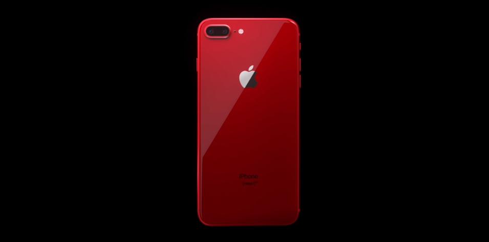 iPhone 8 Plus Продукт Красный
