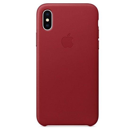 iPhone X Продукт Красный чехол