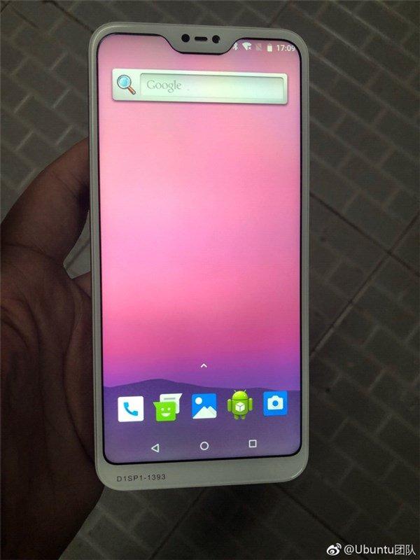 Предполагаемый Xiaomi Redmi 6