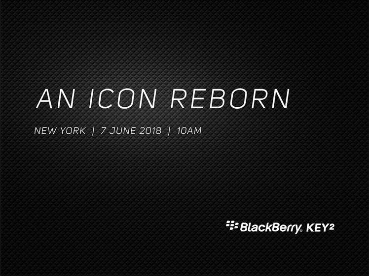 Запуск BlackBerry KEY²