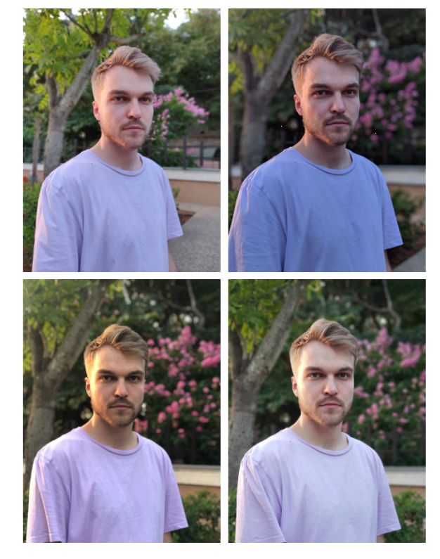 Портрет OnePlus 6 Blind Test Shootout Portrait