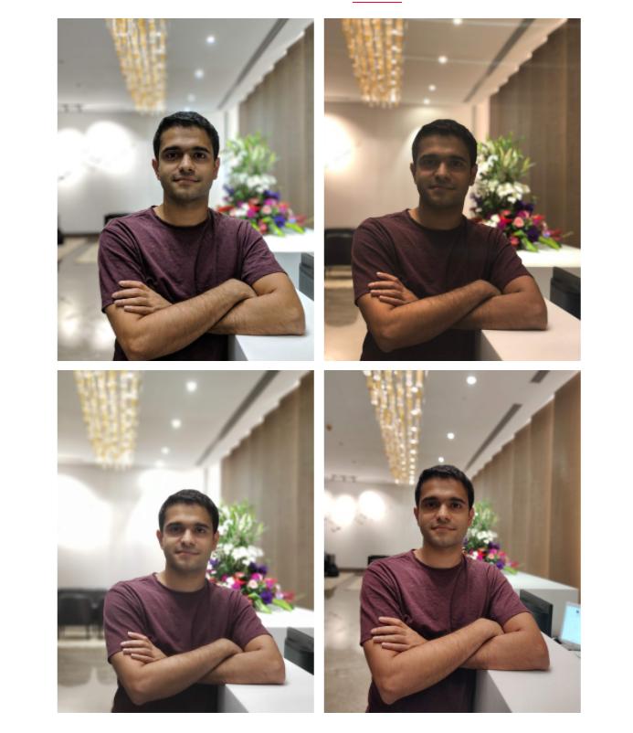 OnePlus 6 Blind Test Camera Shootout Низкоэкранный портрет