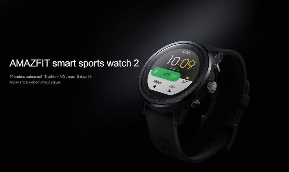 Спортивные часы HUAMI Amazfit Watch 2