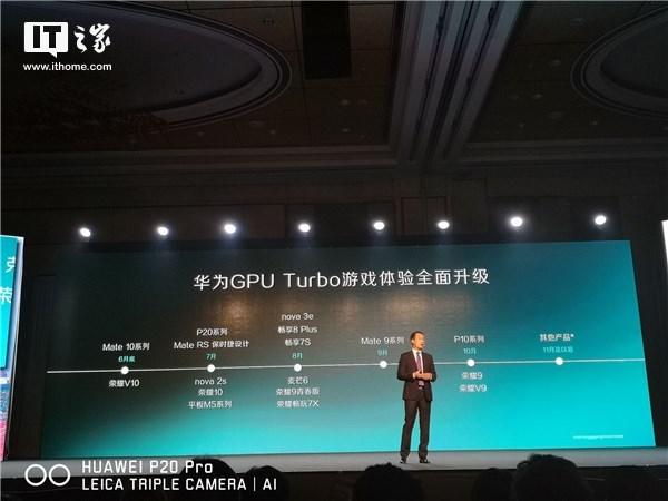Список Turbo устройств Huawei GPU