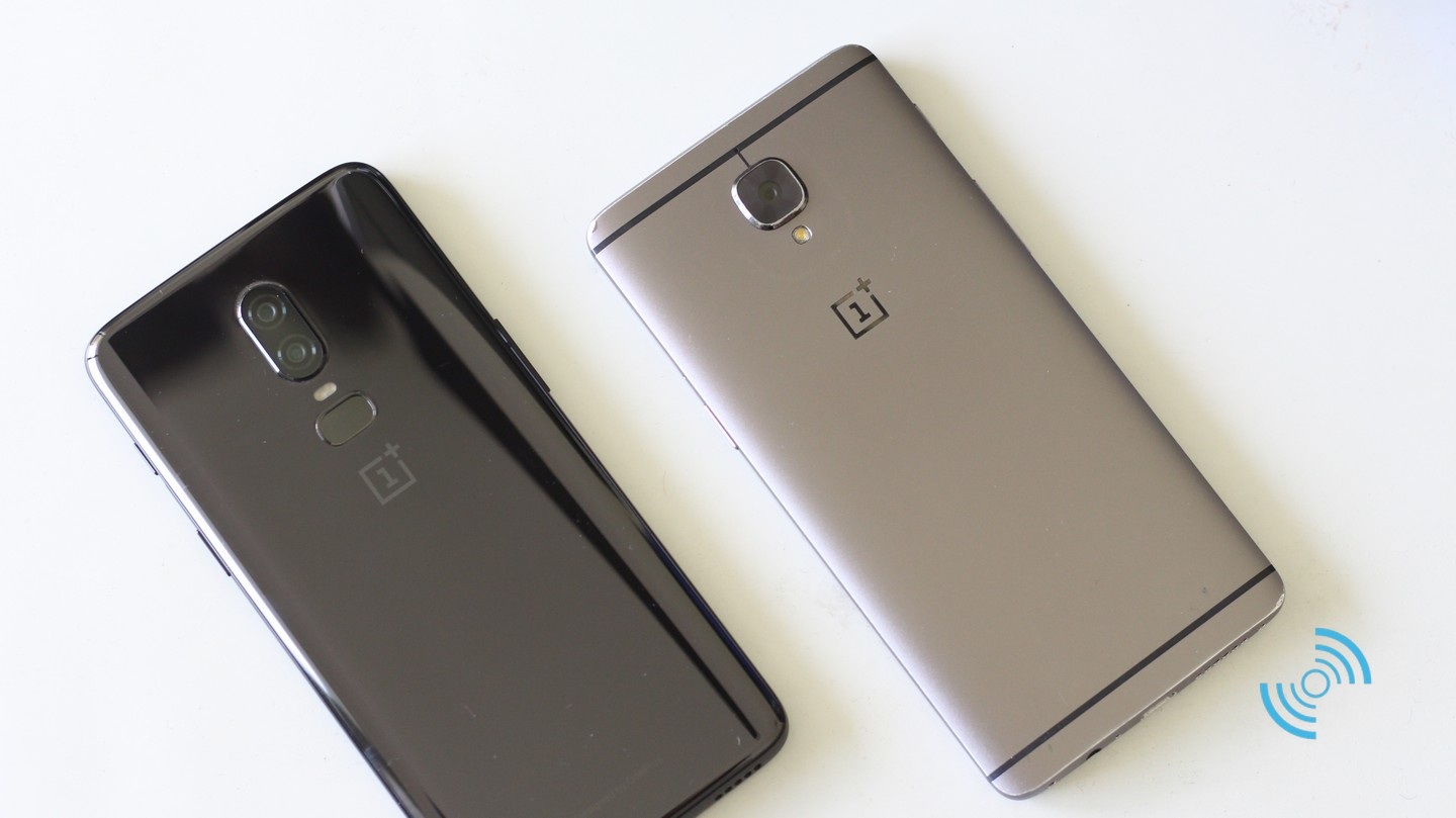 Conception OnePlus 6 vs OnePlus 3T