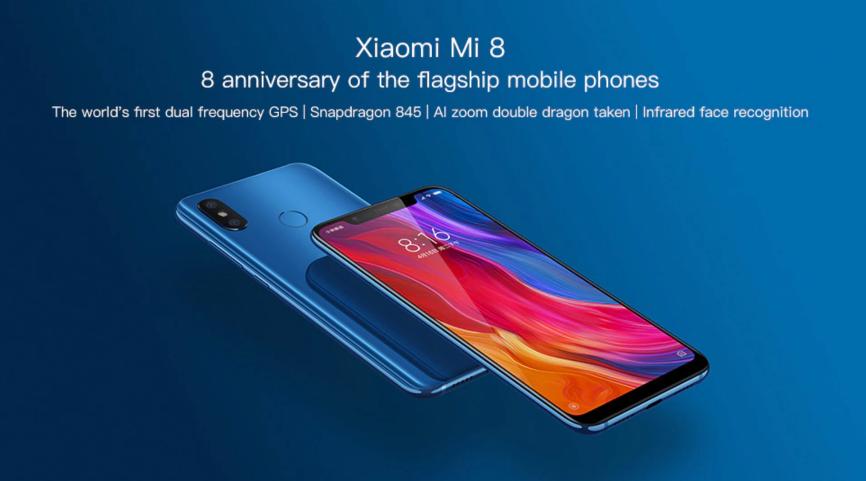 Распродажа со скидкой Xiaomi Mi 8