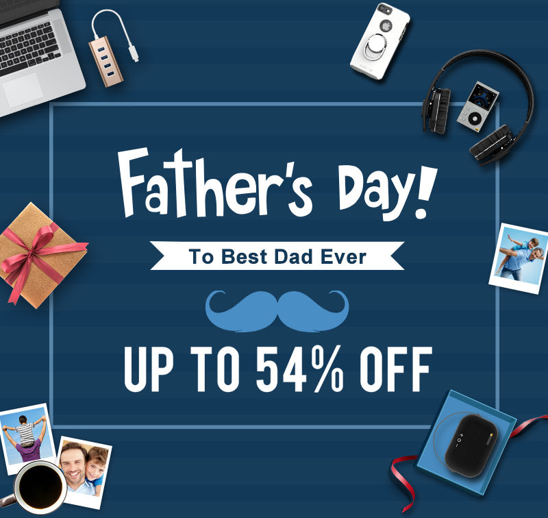 Great offers from dodocool on Father's Day