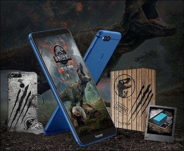 Honor 7X Jurassic World Limited Подарочная коробка Edition