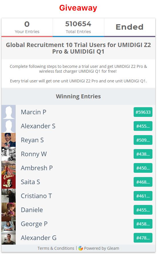 UMIDIGI Z2 Pro бесплатно