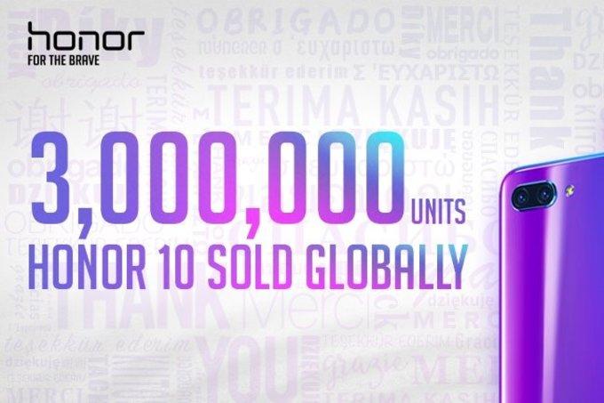 Честь 10 миллионов единиц продаж