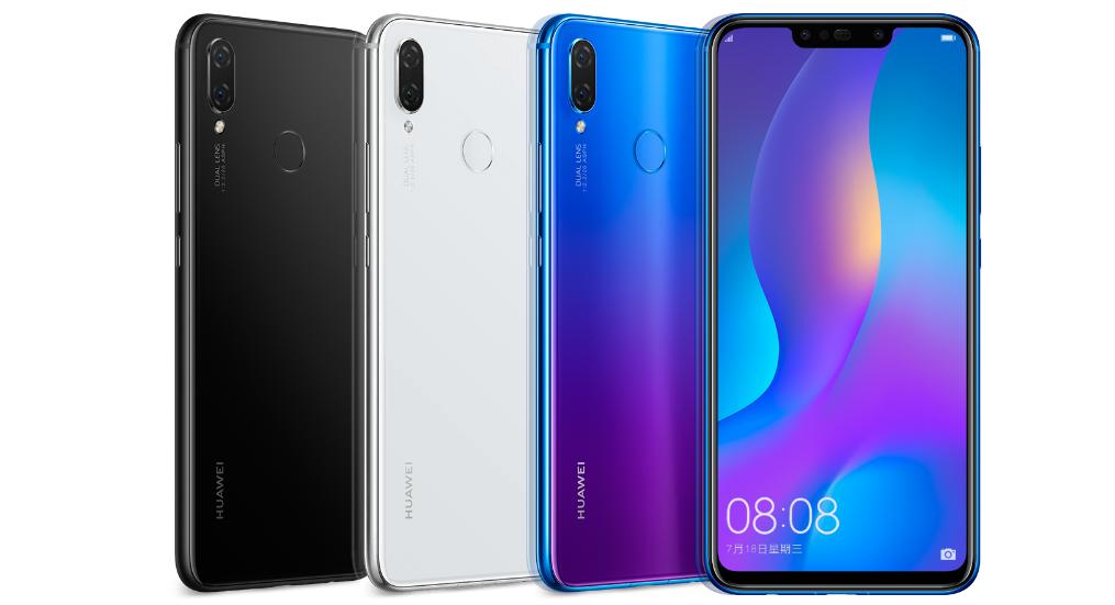 Huawei Nova 3i все цвета