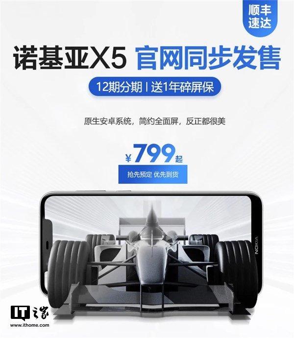 Nokia X5 Цена