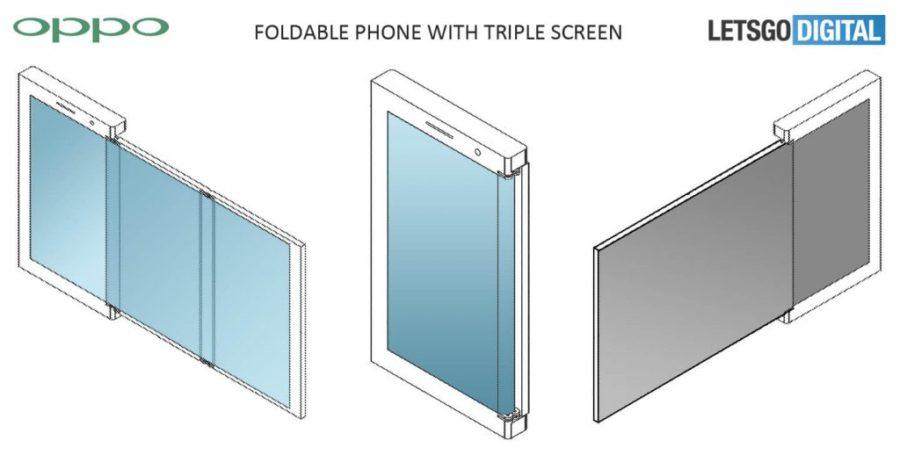 OPPO Складной дизайн телефона 2