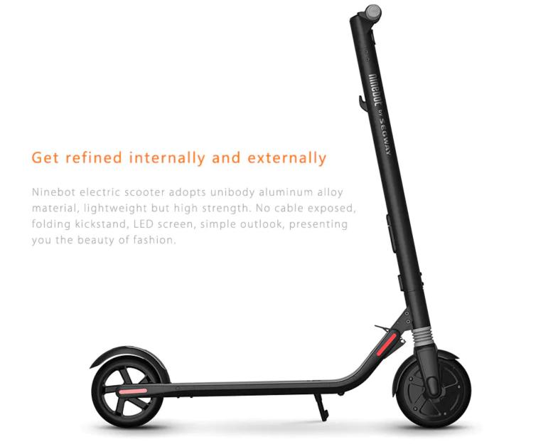 Складной электрический скутер Xiaomi Ninebot ES1